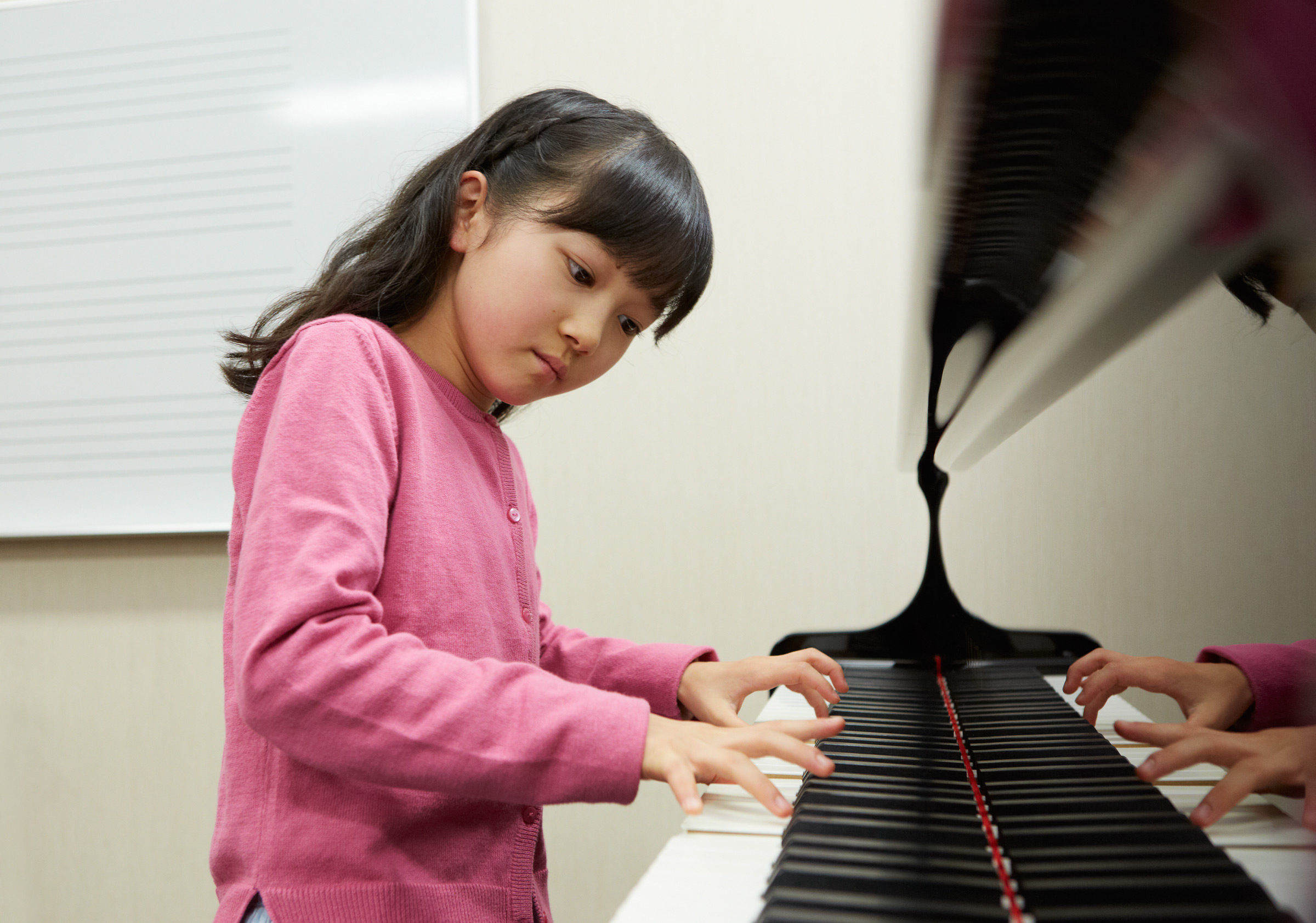 ピアノ個人レッスン 月2回コース