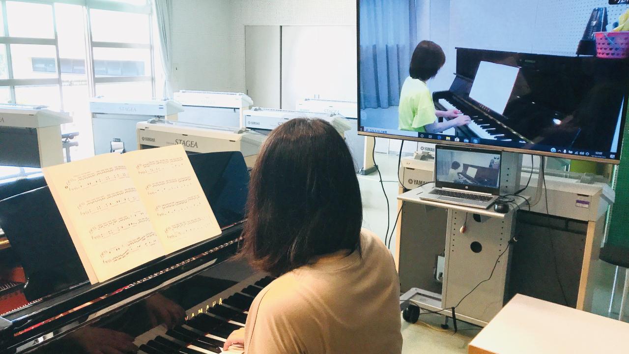 ピアノ(オンラインレッスン)