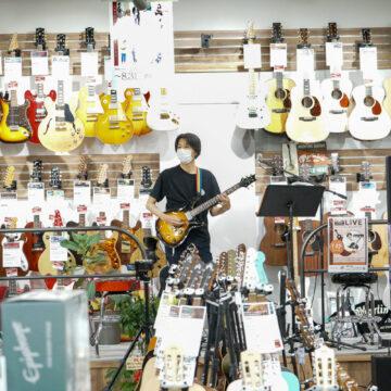 【MPC白山】ヤマハ認定講師 盤若先生のギターLIVE