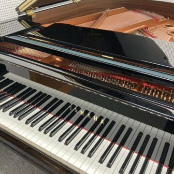 教室のグランドピアノ引っ越し