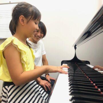 【4歳~】ピアノ個人レッスン 入会受付中♪